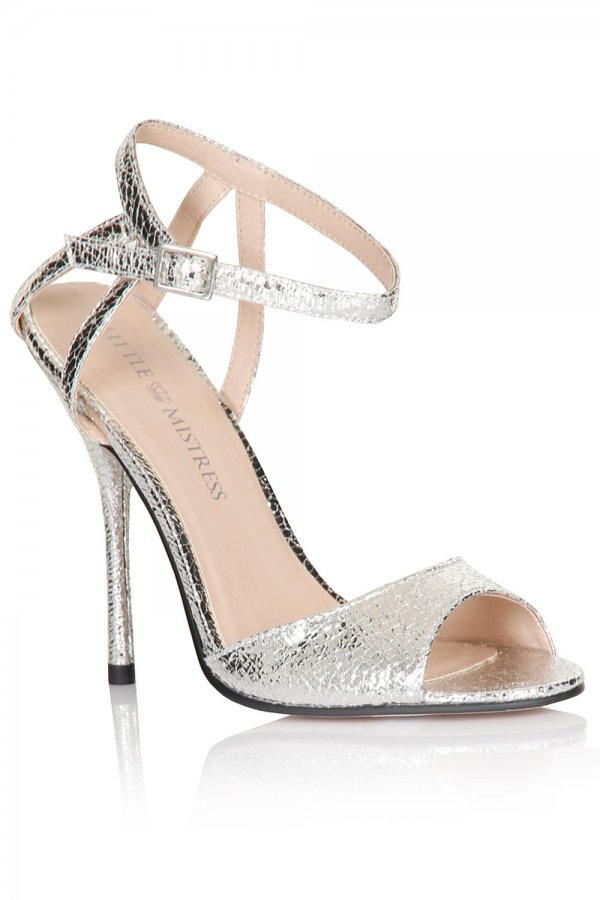 perfect-silver-wedding-party-christmas-shoes