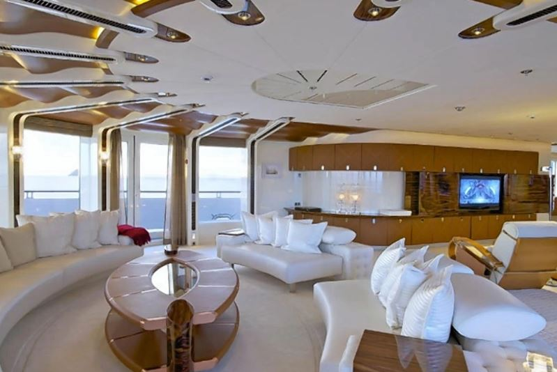 Inside Super Yacht A