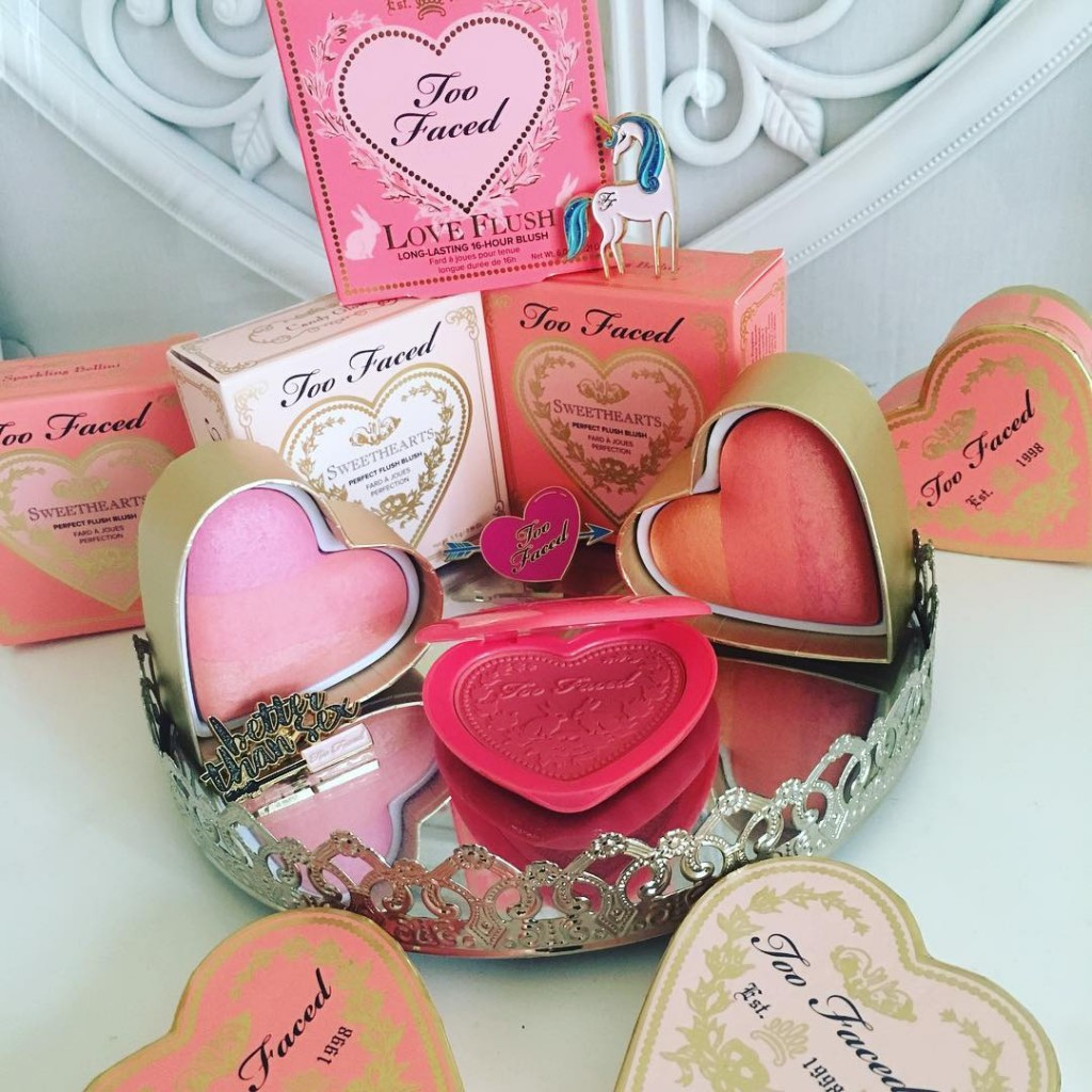Oh hello my beating beauty hearts from toofaced who wantshellip