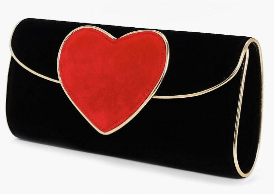 Velvet-Heart-Clutch-Bag